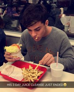 That's literally me on a cheat day  for diets except I'd never fulfill a diet  ilysm Gray ❤️❤️
