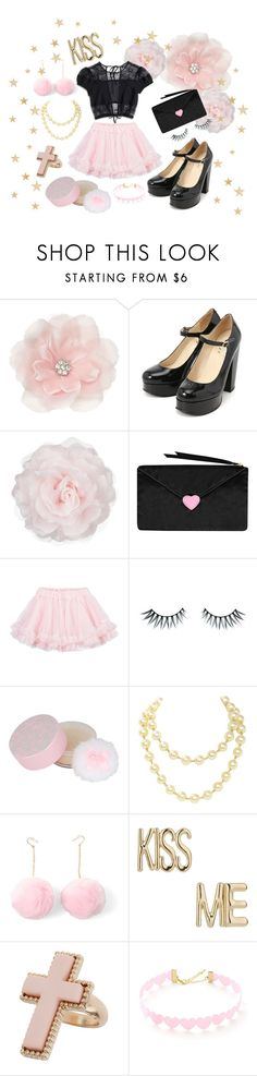 """""""☆ Sweet babe ☆"""" by magicalcandybunny ❤ liked on Polyvore featuring Accessorize, Other, Nasty Gal, LILI GAUFRETTE, Napoleon Perdis, Forever 21, Chanel and Miss Selfridge"""