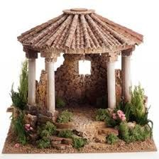 belenes en roma - Buscar con Google Diy Christmas Village, Christmas Villages, Christmas Home, Christmas Crafts, Christmas Nativity, Clay Houses, Ceramic Houses, Miniature Houses, Fairy Fountain