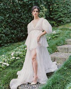 Trend Of The Year: 24 High Low Wedding Dresses ❤ high low wedding dresses simple with puff sleeves country lauragordonphotography #weddingforward #wedding #bride