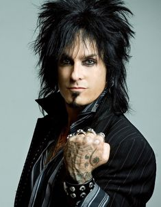 meet him. Nikki Sixx.