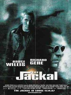 JACKAL Bruce Willis Richard Gere 1996 The Jackal Movie AD