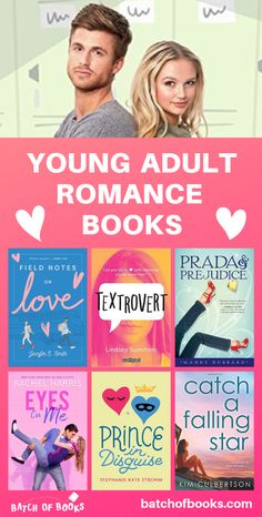 So many cute romance books for teens! Romance books for young adults. Romance books to read. Contemporary romance novels for teenagers. Clean romance novels for teens. Romantic Books For Teens, Best Romantic Books, Best Books For Teens, Teen Romance Books, Best Books To Read, Best Romance Novels, Love Stories To Read, Funny Romance, Cute Romance