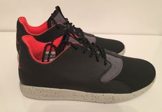 Jordan Eclipse Holiday Sneakers Size 12 Comfort Shoes Black Infrared Grey New #Jordan #Sneakers