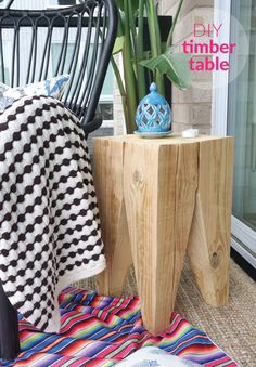 Timber Side Table DIY