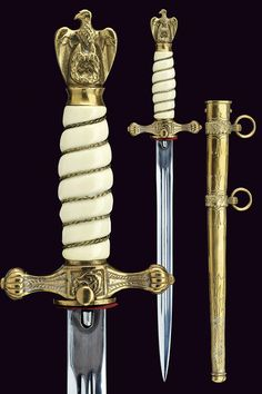 A navy officer's dagger  			                			  			   			                              			category:  			   			Military Daggers  			                			  			provenance:  			   			Germany  			                			  			dating:  			   			  			20th Century