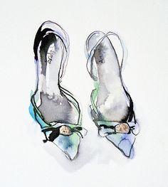 my blue shoes | Bridget Davies | Flickr