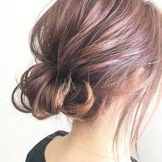 New Bob Haircuts 2019 & Bob Hairstyles 25 Bob Hair Trends for Women - Hairstyles Trends Short Hair Updo, Short Hair Styles, Easy Hair Up, Cute Bob Hairstyles, Romantic Hairstyles, Hair Colour Design, Hair Arrange, Hair Setting, Hair Lengths