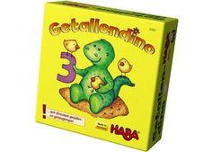 leerzaam geheugenspel 'getallendino' Haba | kinderen-shop Kleine Zebra