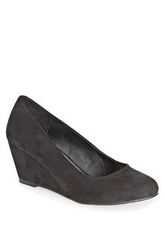 Plus Size Faith Faux Suede Wedge | Plus Size New Shoes | Avenue