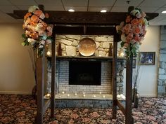 Flowers by Blue Sage, alter by Party Plus Tents & Events