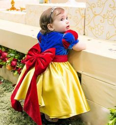 Cute Snow White Kids Pageant Gowns Flower Girl Dresses 2018