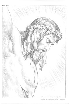 Jesus Drawings, Pencil Art Drawings, Art Drawings Sketches, Jesus Christ Drawing, Christian Drawings, Christian Art, Christus Tattoo, Jesus Sketch, Tattoo Crane
