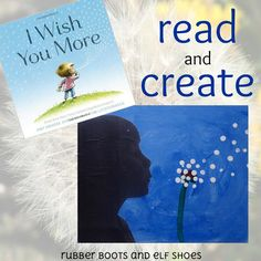 Kindergarten kids read I Wish You More by Amy Krouse Rosenthal and Tom Lichtenheld, and then they created their own wishes to give to their mamas.