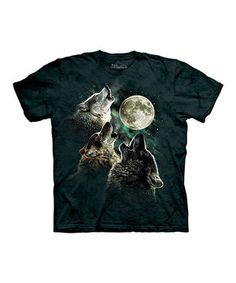 Look what I found on #zulily! Black Three Wolf Moon Tee - Toddler & Kids by The Mountain #zulilyfinds