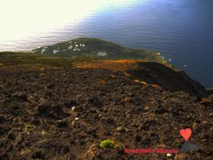 The village of #Ginostra seen from the #volcano #Stromboli.