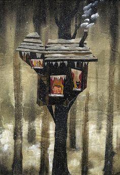 l'omino di neve(1) #art #illustration