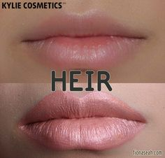 Kylie Cosmetics Metal Matte Liquid Lipstick in Heir