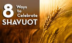 Passion for Truth Fellowship | 8 Ways To Celebrate Shavuot (Shavuot in Greek is Pentecost). Interesting article that helps to understand Pentecost better.