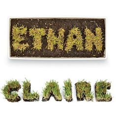 Grow Your Own Name From Disney Family Fun.  Garden Crafts For Kids