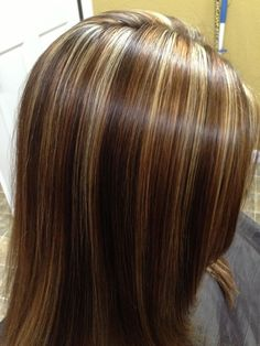 pictures of highlights and lowlights fresh summer hairloving this color combo - Hair Color Highlights Styles