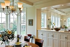 Shingle-Style-Home-by-Smith-Vansant-Architects-PC Kitchen Wall Decor Ideas