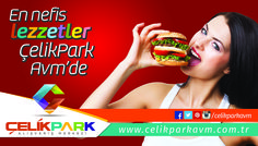 En nefis lezzetler  ÇelikPark AVM'de Park, Parks