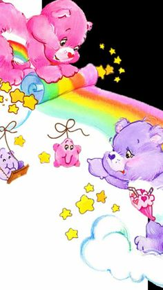 The Care Bears HD Wallpapers Backgrounds Wallpaper Ipod Wallpaper, Bear Wallpaper, More Wallpaper, Apple Wallpaper, Cellphone Wallpaper, Cartoon Wallpaper, Care Bear Tattoos, Care Bear Party, Baby Hug