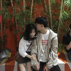 Couple Goals Teenagers, Ulzzang Couple, Sweet Couple, Real Love, Hanfu, Cute Boys, Cute Couples, Instagram Story, Bff