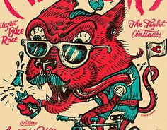 """Check out new work on my @Behance portfolio: """"FIXED FIGHT 9: ALLEYCAT BIKE RACE"""" http://on.be.net/1M3eTub"""
