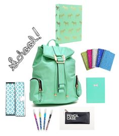 """School!"" by rachael20013 ❤ liked on Polyvore featuring Dasein, Vera Bradley and school"