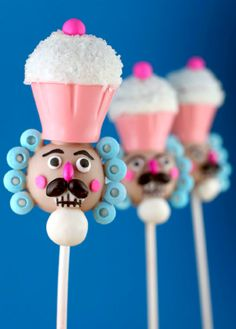 Nutcracker Cake Pops!