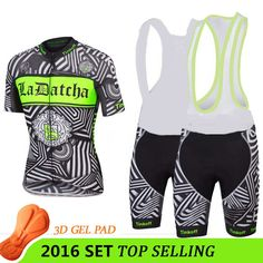 56.80$  Watch here - http://alihfs.worldwells.pw/go.php?t=32661487357 - ciclismo cycling jersey 2016 pro cycling team new black/fluo green ropa ciclismo 2016 men sportwear mtb summer style T-I-6501