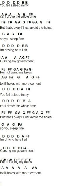 Flute Sheet Music: Twenty One Pilots