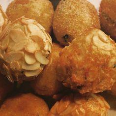 Polpette di pesce e mandorle- Fish balls and almonds