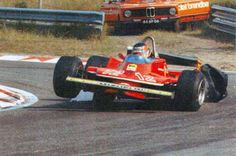 Gilles Villeneuve did things that nobody else dared to do.