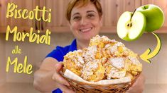 BISCOTTI MORBIDI ALLE MELE Ricetta Facile di Benedetta - Soft Apple Cookies Easy Recipe - YouTube Breakfast Crepes, Best Breakfast, Easy Crepe Recipe, Nutella French Toast, Vanilla Mug Cakes, Cinnamon Donuts, Apple Cookies, Easy Meals For Kids, Asparagus Recipe