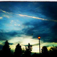Bakersfield Night Sky