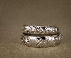 leafy wedding band - Google Search