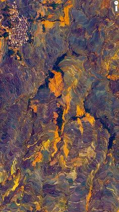 22 Awesome Satellite Images From Around The World Ariel Images, Natural Structures, Design Seeds, Birds Eye View, World Of Color, Aerial Photography, Natural World, Aerial View, Les Oeuvres