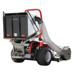 The Altoz Large-Capacity Collection System with Dump Box is an effective and efficient way to collect grass clippings and leaves. The dump box hopper holds up to 12 cubic feet and allows the operator to release yard waste right from the mower seat. Lawn Equipment, Outdoor Power Equipment, Zero Turn Mowers, Yard Waste, Lawn Mower, Agriculture, Grass, Landscaping, Leaves