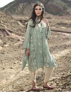 Pakistani ensemble by Misha Lakhani.