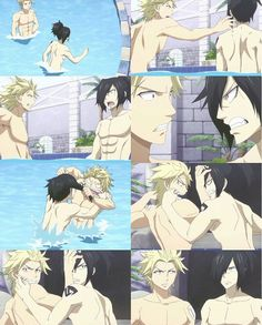 Sting and Rogue are so adorable Fairy Tail Rogue, Fairy Tail Sting, Fairy Tail Meme, Fairy Tail Family, Fairy Tail Couples, Fairy Tale Anime, Fairy Tales, Fairy Tail Sabertooth, Fairy Tail Dragon Slayer