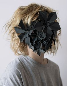 barcelona based designer hector sos created this series of unusual paper creations for a spanish paper company No Face, Photo Portrait, Portrait Photography, Conceptual Photography, Fashion Photography, Faceless Portrait, Paper Mask, Hidden Face, Body Adornment