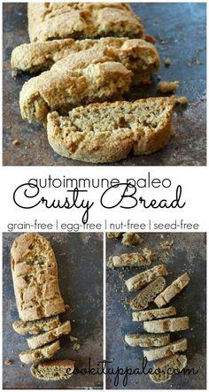 AIP Crusty Bread - Paleo, egg-free, nut-free, seed-free! It's soft on the inside and deliciously crusty on the outside!
