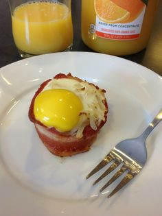 Bacon, Hashbrown and Egg Muffin Bakes