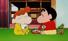 shin chan and his family and sister - Google Search