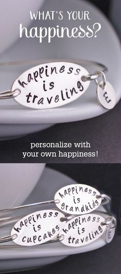 This bracelet is awesome! What's your happiness?