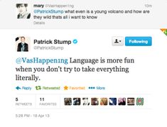 patrick stump tweets