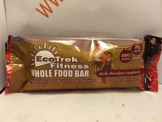Crazy Food Dude Review: EcoTrek Fitness Dark Chocolate Raspberry Whole Food Bar